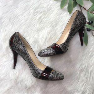 Oscar de la Renta Shoes - Oscar De La Renta Tortoise 'Tweed' Pump Heels